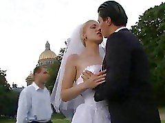 Brides Outdoor blo blonde gangbang