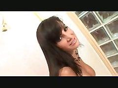 lisa ann big tits brunette ass titfucking hard