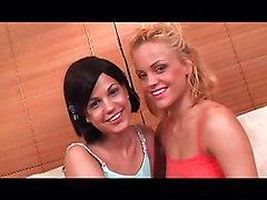 Lesbian Blonde Black-haired Blonde Caucasian Lesbian Licking Vagina Masturbation Oral Sex Shaved Toys Vaginal Masturbation Britney