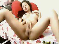 Asian babe sexy cute chick horny orgasm hot cunt Pinay solo masturbation webcam