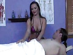 Big Tits Massage Milf
