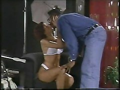 Black and Ebony Pornstars Vintage Interracial