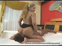 lesbian facesitting femdom fetish bigtits ass bdsm