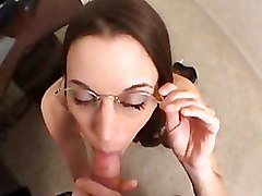 Blowjobs Glasses POV