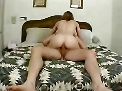 Amateur Petite bedroom sex blowjob