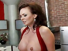 Big Tits Milf Stockings ass blowjob boobs breasts brunette busty housewife juggz melons oral