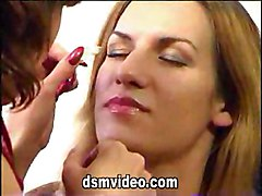 Lesbian Caucasian Kissing Lesbian