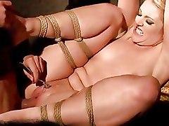 BDSM Bondage blonde