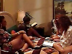 Ebony Lesbian pussy licking