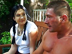 Blowjob Public Cumshot Big Cock Black-haired Blowjob Caucasian Couple Cum Shot Oral Sex Public John West Renee Pornero