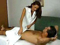 anal stockings cumshot facial blowjob brunette pussylicking pussyfucking massage