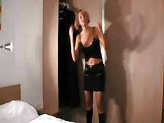 Blonde Blonde Blowjob Caucasian Couple Cum Shot German Shaved Stockings Vaginal Sex