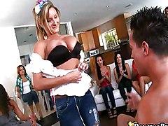 CFNM Caucasian Party Piercings Striptease