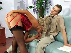 Stocking Sex  Anal  Office Sex
