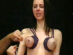 BDSM Emily sharpe Needle Torture Torture extreme bdsm needles pain uk fetish