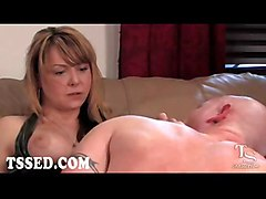 shemale tranny transsexual trans ladyboy transvestite seduction blowjob oral suck deep throat anal hardcore fuck fetish bondage bdsm bound submission