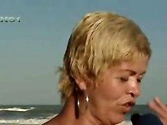 Beach Celebrities Flashing Brazilian