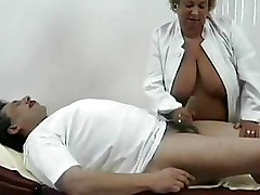 BBW Granny cumshots hospital sex