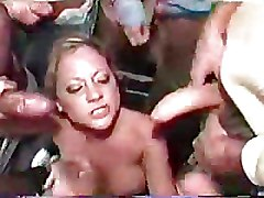Blowjobs Bukkake Gang Bang cum cumshot