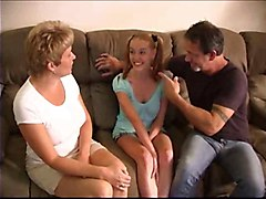 Old+Young Teens Threesomes
