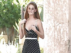 Babes Public nudity Redheads