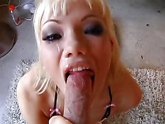 Asian Blondes Facials
