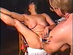 Amateur Double Penetration Masturbation