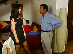 Anal Anal Sex Black-haired Blowjob Brunette Caucasian Couple Cum Shot Kissing Oral Sex Vaginal Sex