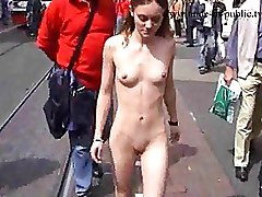 Public nudity Teen
