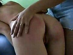 Big Tits Lesbian Fetish Big Tits Black-haired Caucasian Domination Lesbian Spanking