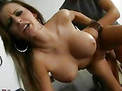 Milf Office big tits doggy style