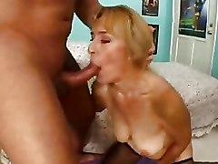 Anal Granny Riding Stockings
