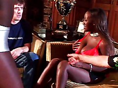 Ebony Group Interracial Black-haired Blowjob Cum Shot Ebony Interracial Licking Vagina Oral Sex Threesome Vaginal Sex