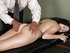 Brunettes Massage Teen