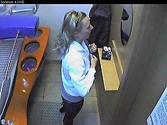 Voyeur Webcam Nude Girl In Solarium Part5