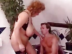 Big Tits Mature doggy style older