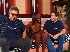Ebony Interracial Black-haired Blowjob Couple Cum Shot Ebony Interracial Licking Vagina Oral Sex Vaginal Sex