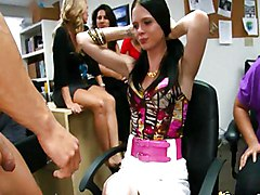 Blowjob Blowjob CFNM Office Party