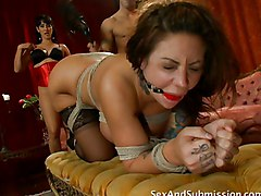 Anal Group Fetish MILF Anal Masturbation Anal Sex Black-haired Blowjob Bondage Brunette Caucasian Deepthroat Domination Gagging MILF Masturbation Oral Sex Oriental Pornstar Stockings Strap-on Tattoos Threesome Toys Vaginal Masturbation Vaginal Sex Isis Lo