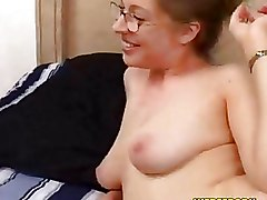 Big Tits Handjobs glasses