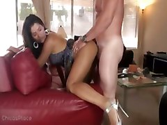 creampie latina babe big cock doggy