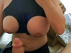 Big Tits Blowjob Amateur Cumshot Fetish POV Amateur Big Tits Blowjob Brunette Caucasian Couple Cum Shot Latex Oral Sex POV