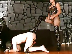 BDSM Femdom Spanking