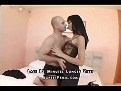 surprise blackhair secretary cocksuck shaved pussylick nice tits