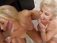 Classroom Mature Threesome blonde ffm
