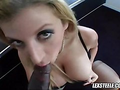 cumshot black hardcore blonde interracial blowjob doggystyle bigtits ebony POV bigass bigdick hugetits jay sara phatass steele lexington