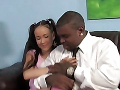 Big Cock Interracial Teen
