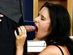 Lingerie Caucasian Couple German Licking Vagina Lingerie Masturbation Office Oral Sex Stockings Toys Vaginal Masturbation Vaginal Sex