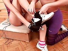 Fingering Lesbian Teen