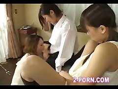 lesbian girlongirl pregnant mother two daughter